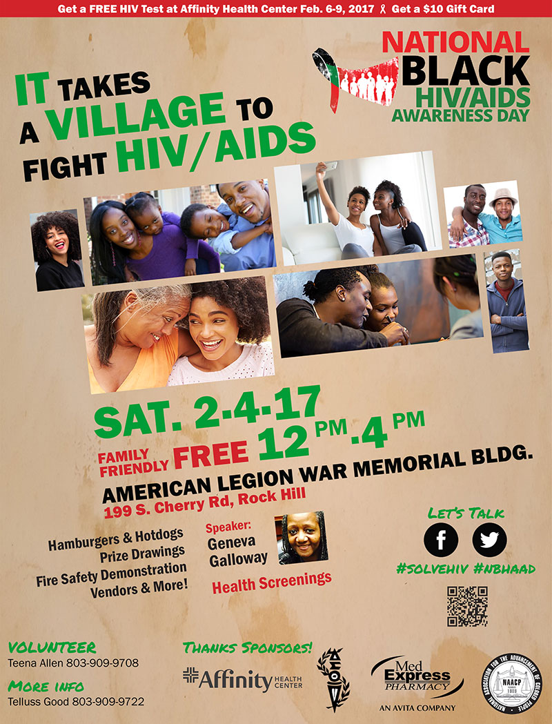 National Black HIV/AIDS Awareness Day 2017 Rock Hill, SC