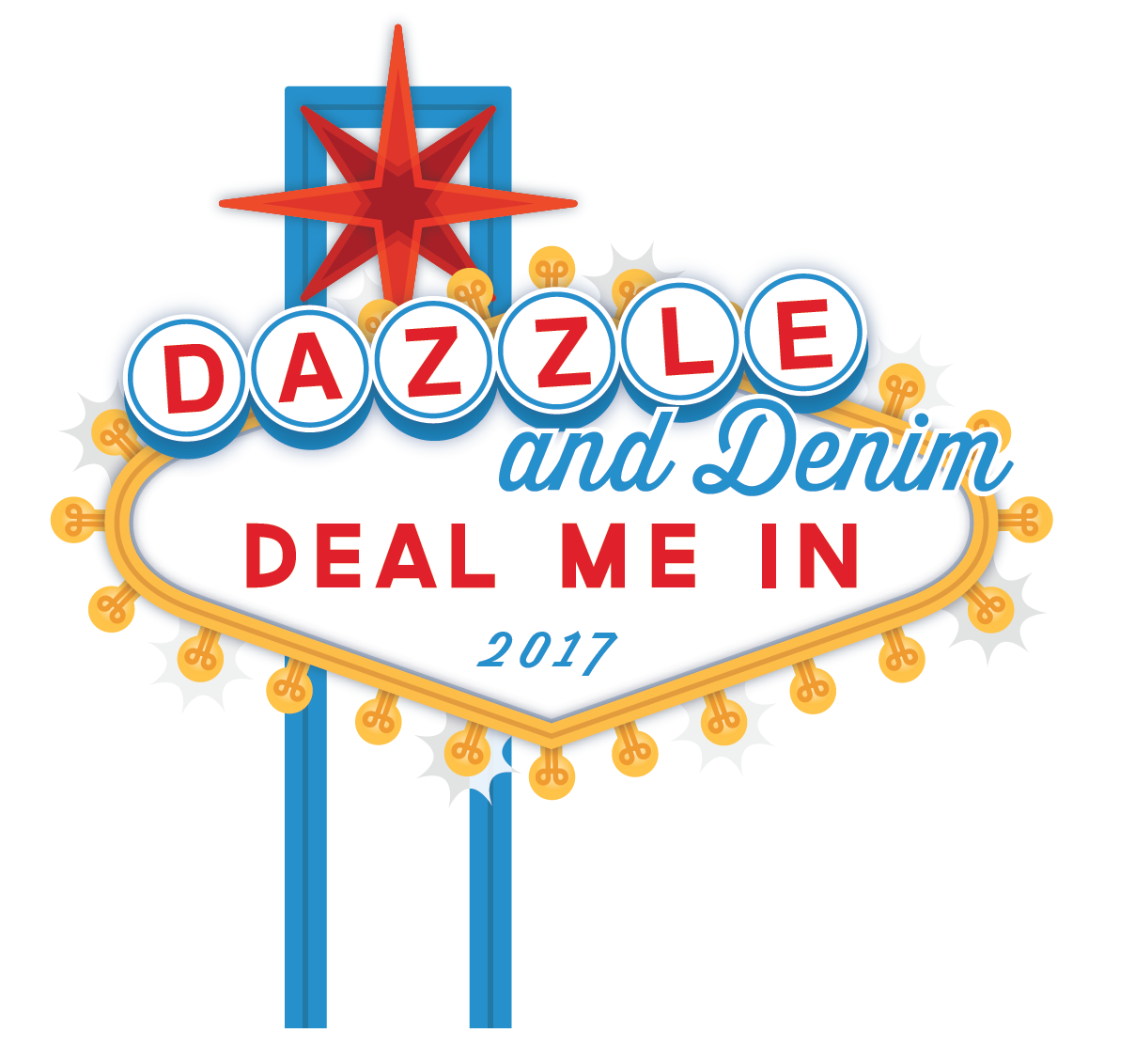 Dazzle and Denim 2017 logo