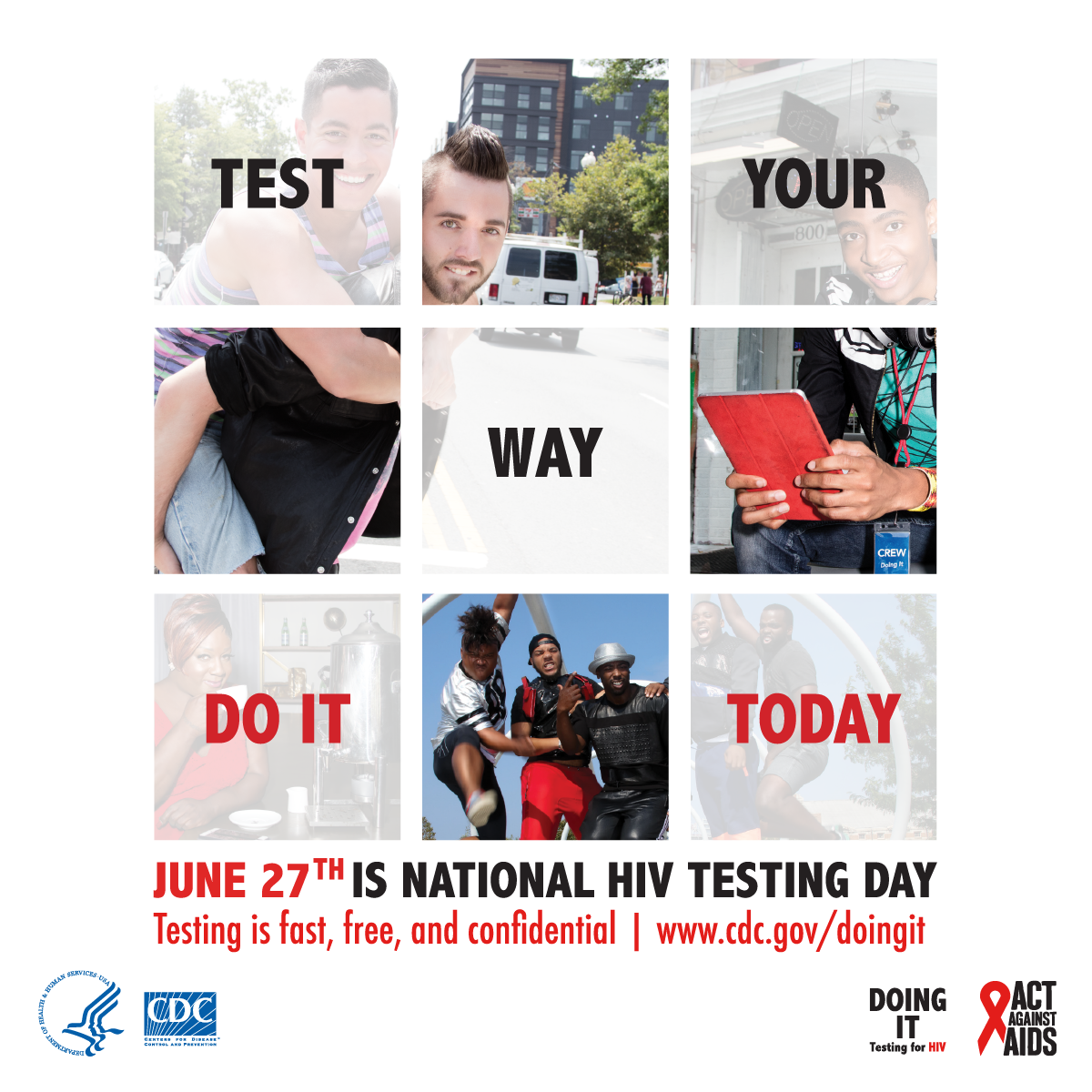 #HIVTestingDay