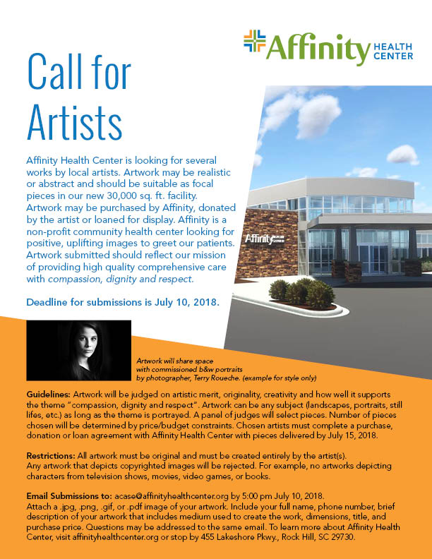 Call For Artist - Affinity Health Center